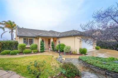 El Cajon Single Family Home For Sale: 8488 Briar Glen Ct