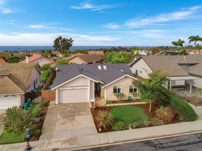 Carlsbad Single Family Home For Sale: 1027 Daisy Avenue
