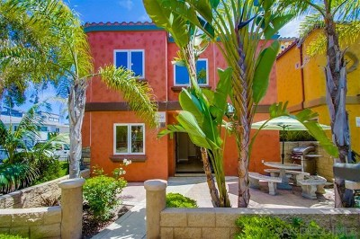 San Diego Single Family Home For Sale: 745 Dover Court