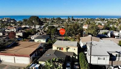Solana Beach Single Family Home For Sale: 143 N Granados Ave