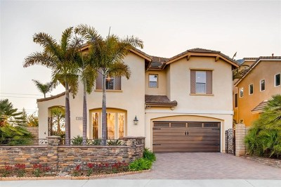 San Diego CA Single Family Home For Sale: $1,879,000