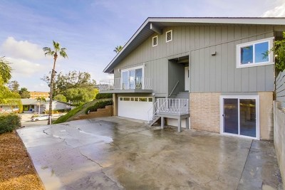 La Mesa CA Single Family Home For Sale: $809,000