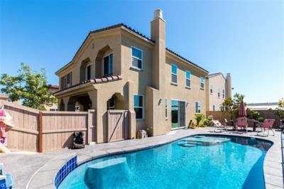 Chula Vista Single Family Home For Sale: 1409 Cathedral Oaks