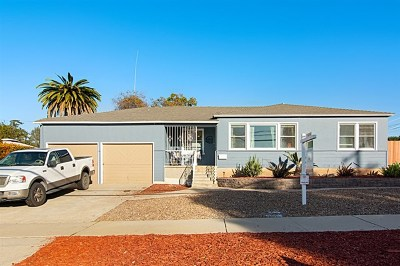 Chula Vista Single Family Home For Sale: 331 First Ave
