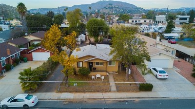 El Cajon Multi Family Home For Sale: 1120 Peach Avenue