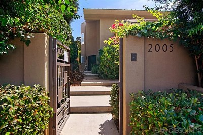 Del Mar Single Family Home For Sale: 2005 Del Mar Heights Road