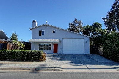 El Cajon Single Family Home For Sale: 625 N 1st St