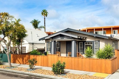 San Diego Single Family Home For Sale: 2320 Meade Ave