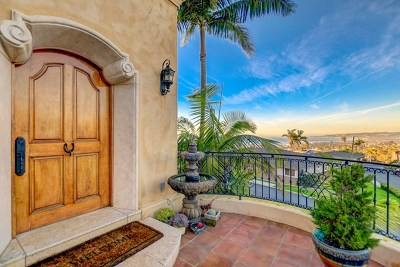 San Diego Single Family Home For Sale: 1135 Barcelona