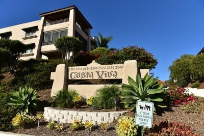 San Diego Condo/Townhouse For Sale: 2530 Clairemont Place #205