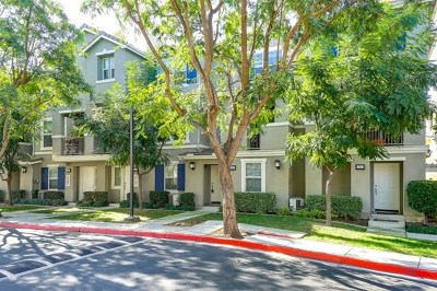 Chula Vista Condo/Townhouse For Sale: 1587 Hackberry Pl