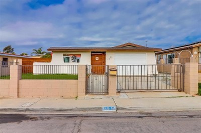 San Diego Single Family Home For Sale: 3778 Arruza Street