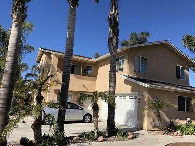 Lemon Grove Single Family Home For Sale: 8190 Hawkins Pl