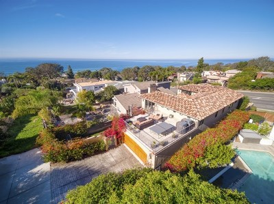 Del Mar Single Family Home For Sale: 2171 Del Mar Heights