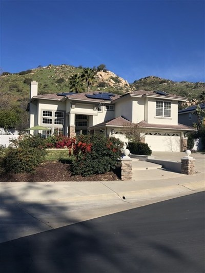 Escondido Single Family Home For Sale: 3238 Rosewood Ln