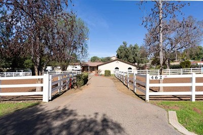 Alpine CA Single Family Home For Sale: $749,000