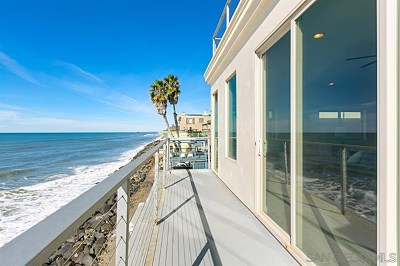 Oceanside Single Family Home For Sale: 1837 S Pacific St