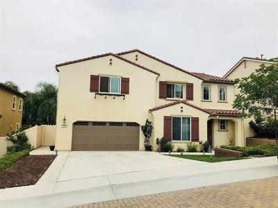 Vista Single Family Home For Sale: 638 Amarra Ln