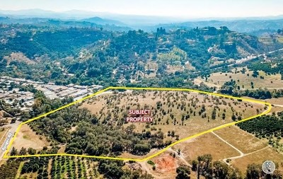 Fallbrook Residential Lots & Land For Sale: 3974 Reche Rd