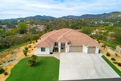 Fallbrook Single Family Home For Sale: 5464 Rainbow Heights Rd