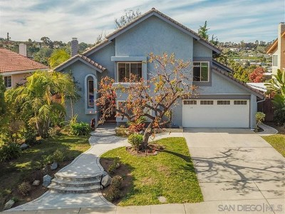 Encinitas Single Family Home For Sale: 454 Jolina