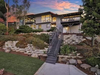 La Mesa Single Family Home For Sale: 4360 Conrad Dr