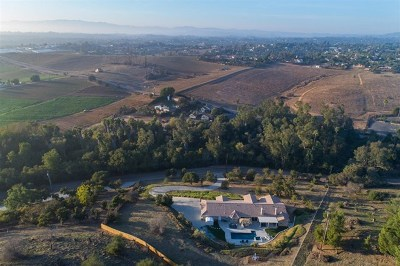 Fallbrook Single Family Home For Sale: 2592 Green Canyon Road