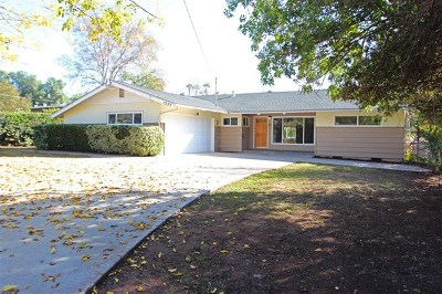 Escondido Single Family Home For Sale: 1557 Birch Ave