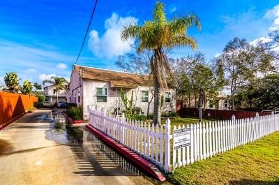 La Mesa Multi Family Home For Sale: 3707 Harris St