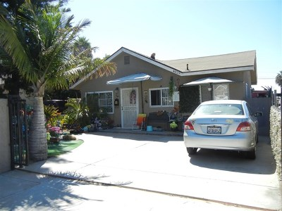 San Diego Single Family Home For Sale: 4029 Delta St