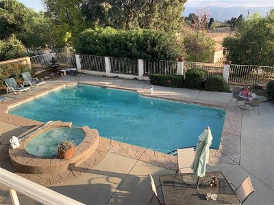 Banning Single Family Home For Sale: 10377 Bluff Street