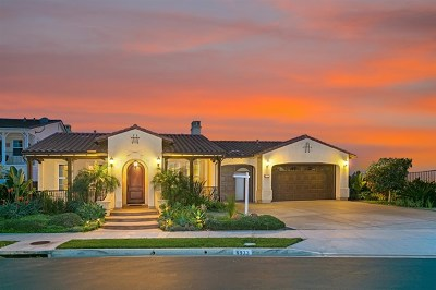 Carlsbad Single Family Home For Sale: 6933 Sitio Cordero