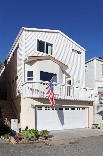 Oceanside Single Family Home For Sale: 919 Vine St