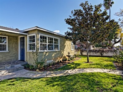 Imperial Beach Single Family Home For Sale: 1167 Delaware St