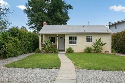 Lemon Grove Single Family Home For Sale: 1748 Dayton Dr