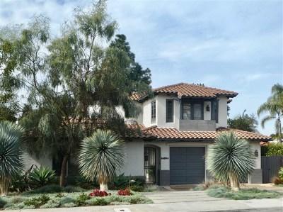 Del Mar Single Family Home For Sale: 14004 Mercado Drive