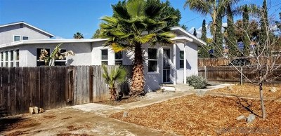 El Cajon Multi Family Home For Sale: 1128 Crosby St