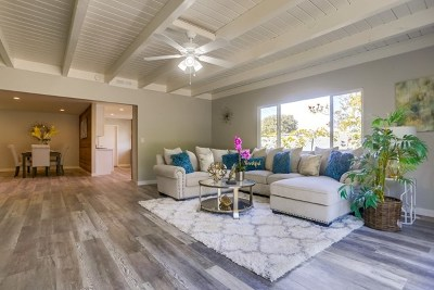 Oceanside Single Family Home For Sale: 2448 Sarbonne Dr