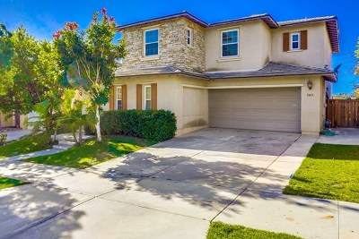 Carlsbad Single Family Home For Sale: 3443 Pleasant Vale Dr
