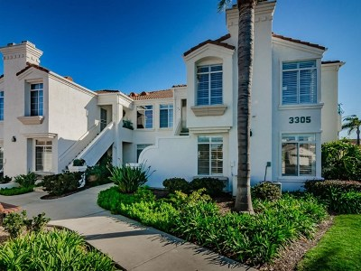 Oceanside Condo/Townhouse For Sale: 3305 Genoa Way #90