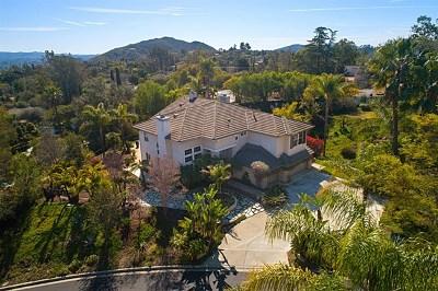 Escondido Single Family Home For Sale: 1369 Emeraude Glen