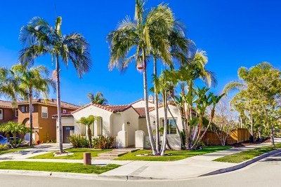 Chula Vista Single Family Home For Sale: 1406 Edgehill Dr.
