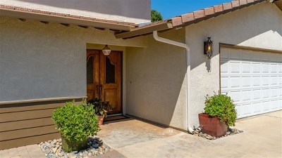 Fallbrook Single Family Home For Sale: 1415 Via Chaparral