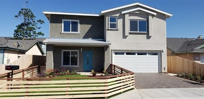 Imperial Beach Single Family Home For Sale: 1249 12th Street