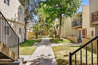San Diego Condo/Townhouse For Sale: 2850 Reynard Way #8