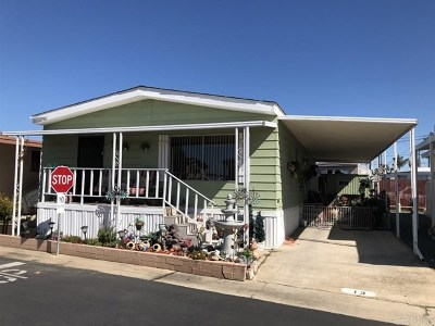 Chula Vista CA Manufactured Home For Sale: $90,000
