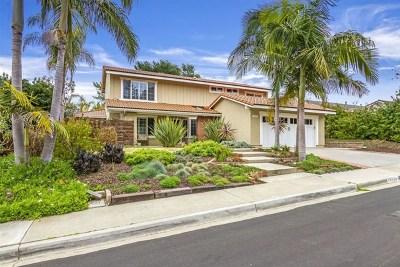 Del Mar Single Family Home For Sale: 12923 Biscayne Cv