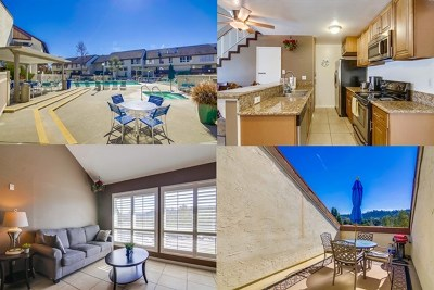 San Diego Condo/Townhouse For Sale: 6151 Rancho Mission Rd #313