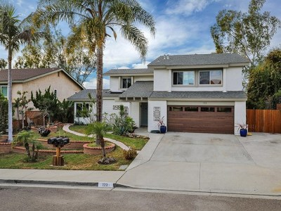 Encinitas Single Family Home For Sale: 122 Little Oaks Rd