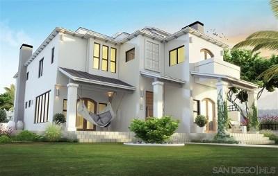 Coronado Single Family Home For Sale: 1022 G Avenue